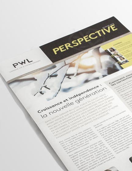 Perspective Newsletter – PWL